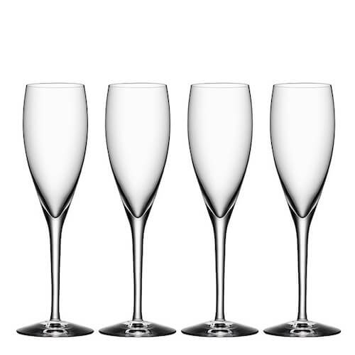 More Champagneglas 18 cl 4-pack